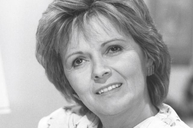 La comédienne Louise Rémy... (Photo Société Radio-Canada)