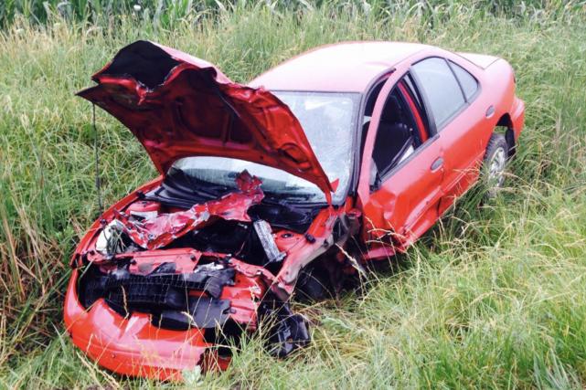 Deux hommes ont été gravement blessés dans une collision impliquant deux... (Twitter)