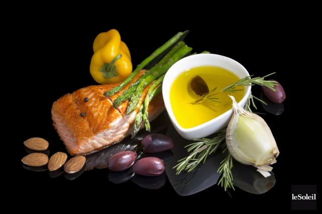 Le régime méditerranéen est habituellement composé de fruits... (Photothèque Le Soleil)