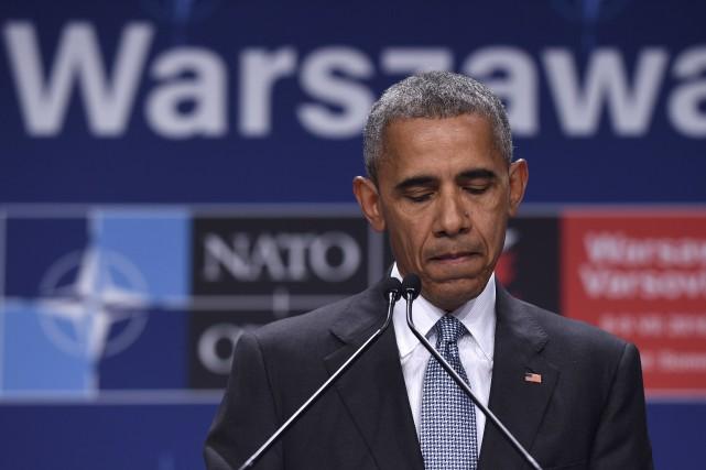 Le président Obama a annoncé qu'il allait écourter... (Associated Press)
