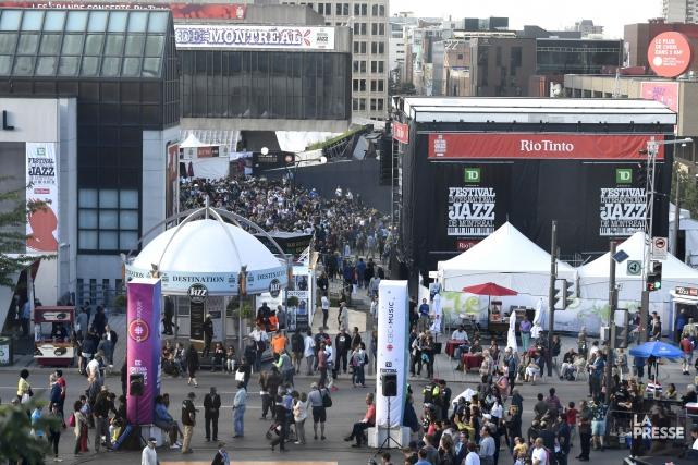 Le budget du festival cette année atteindra l'équilibre... (PHOTO BERNARD BRAULT, LA PRESSE)