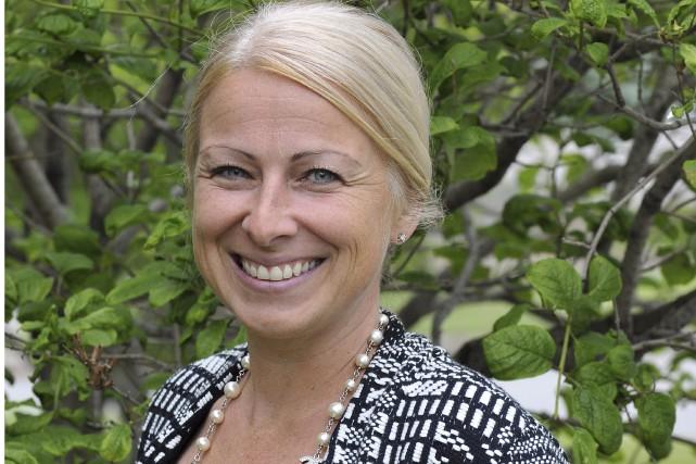 La pédiatre Julie St-Pierre est la première femme... (Photo Le Progrès-Dimanche, Rocket Lavoie)