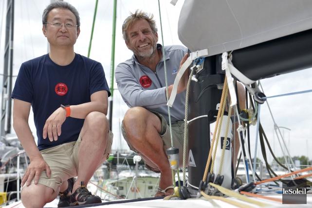 Le Japonais Hiroshi Kitada s'est associé au Français... (Le Soleil, Yan Doublet)