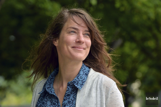 Julie Lambert a remporté le prix du CALQ-Oeuvre... (Le Soleil, Patrice Laroche)