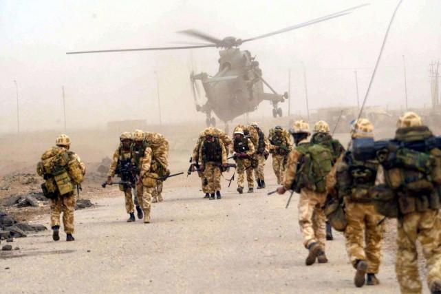179 soldats britanniques ont péridans les six années... (PHOTO ARCHIVES AFP)