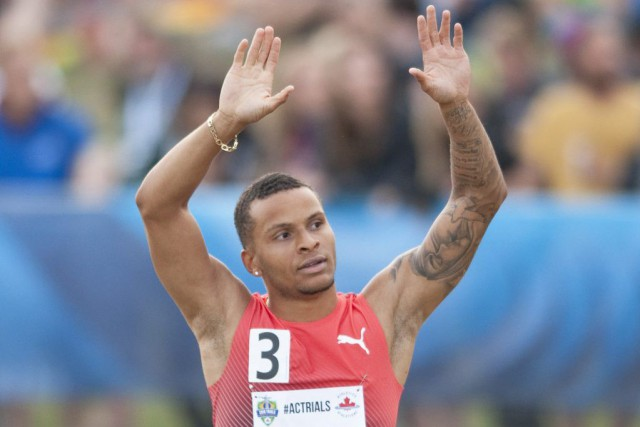 Andre De Grasse... (PHOTO DAN RIEDLHUBER, PC)