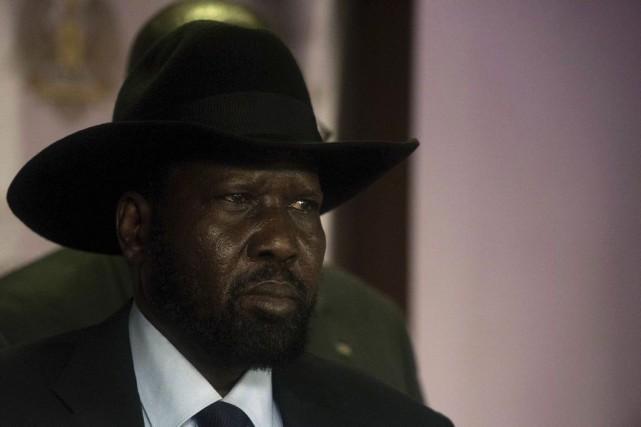 Le président du Soudan du Sud.... (Photo Charles Atiki Lomodong, Agence France-Presse)