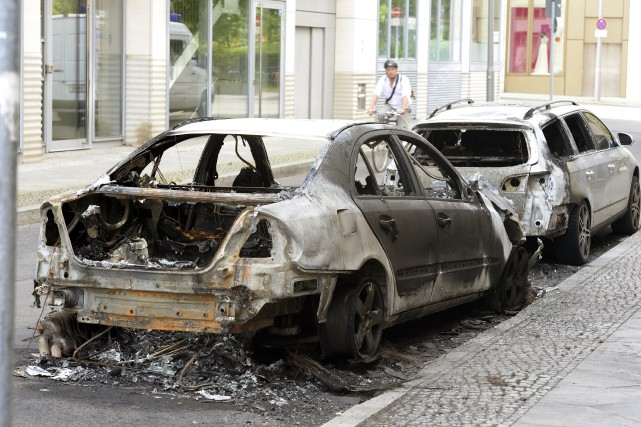 Le service de police de la capitale allemande... (AP, Maurizio Gambarini)