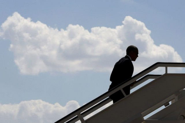Barack Obama... (PHOTO JONATHAN ERNST, REUTERS)