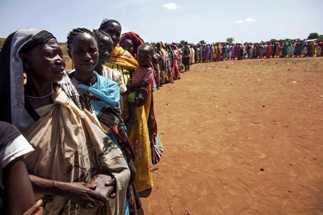 Le Soudan du Sud est déchiré depuis décembre... (Archives AFP, ALBERT GONZALEZ FARRAN)