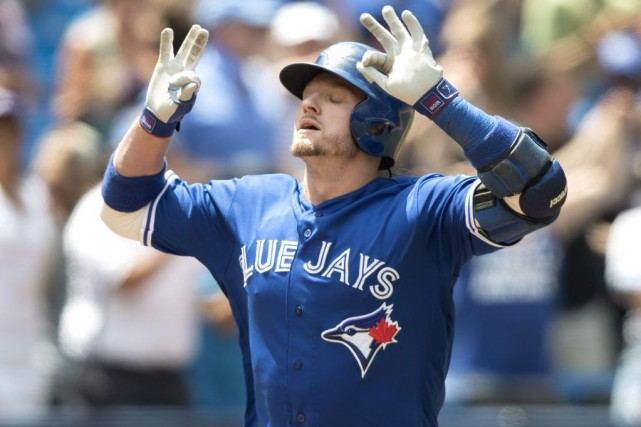 Josh Donaldson... (PHOTO Fred Thornhill, PC)