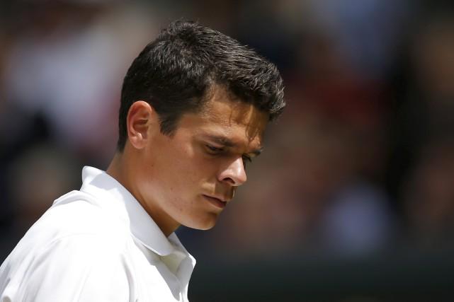 Milos Raonic s'est incliné en trois manches de... (AFP, Andrew Couldridge)