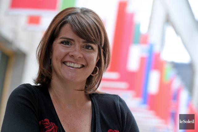 Mariepier Tremblay, titulaire de la chaire d'entrepreneuriat et... (Le Soleil, Erick Labbé)