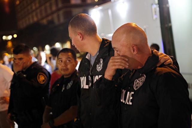 D'une violence inouïe, les derniers événements aux États-Unis sont troublants.... (La Presse Canadienne)