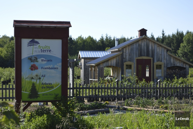 L'entreprise, qui possède un terrain de 80 hectares,... (Benoit Sabourin, LeDroit)