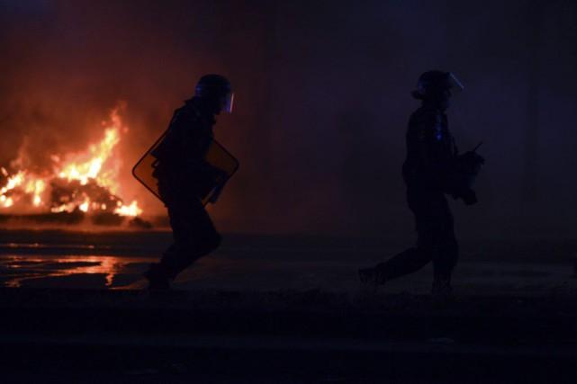 La soirée de la finale de l'Euro a... (Alain Jocard, AFP)
