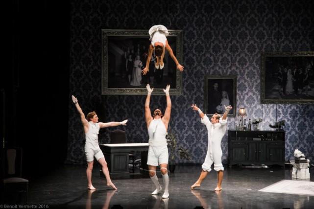 The Elephant in the Roomfait un tabac à... (Photo Benoit Vermette, fournie par Montréal complètement cirque)