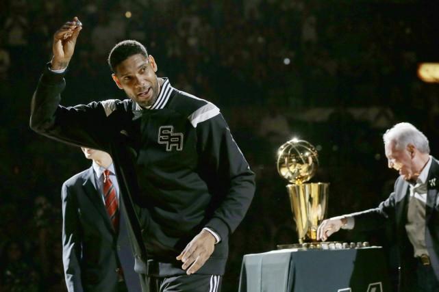 Tim Duncan a remporté le championnat de la... (PHOTO Eric Gay, ARCHIVES AP)