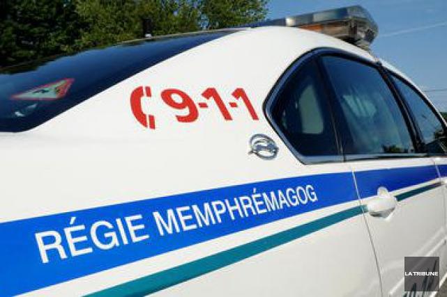 Les agents de la Régie de police de Memphrémagog (RPM) sont sur leurs gardes... (Archives La Tribune, Frédéric Côté)