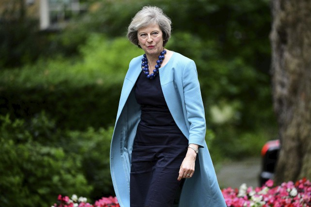 Theresa May estparfois surnommée la «nouvelle Margaret Thatcher».... (Archives AFP, Leon Neal)