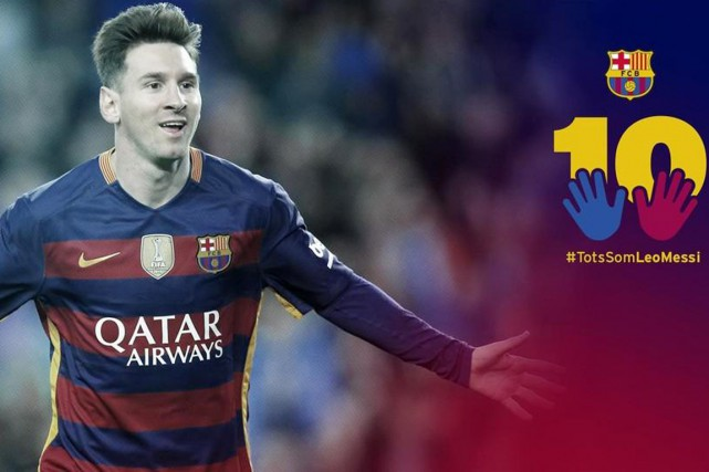 « Grâce au hashtag (mot-clic, NDLR) TodosSomosLeoMessi (Nous sommes... (PHOTO FC BARCELONE/TWITTER)