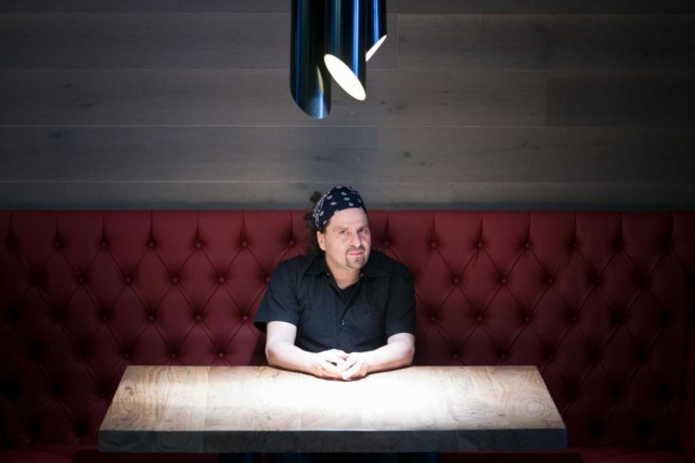Le chef Joe Mercuri au Houston de la... (PHOTO FRANÇOIS ROY, LA PRESSE)