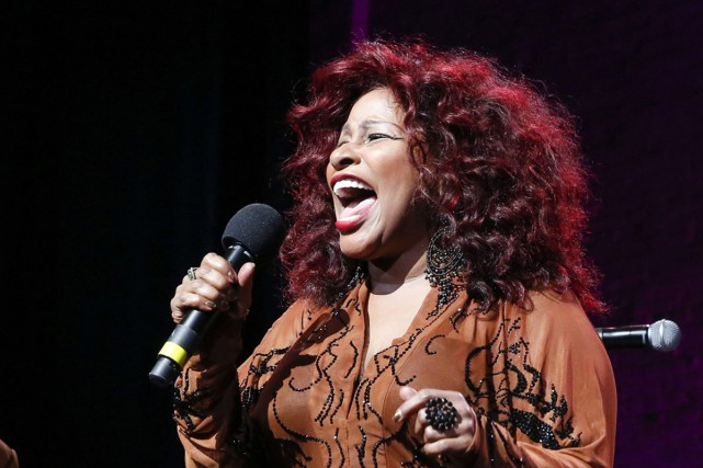Chaka Khan lors d'une prestation en octobre 2014.... (PHOTO ARCHIVES AP)