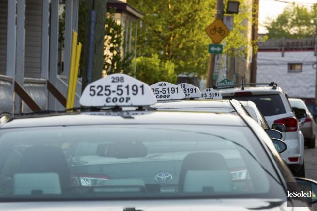 Chez Taxi Coop 525-5191, la compagnie pour laquelle... (Photothèque Le Soleil, Caroline Grégoire)