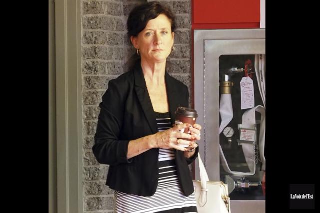 L'ex-adjointe administrative Roxanne Brault avait été remerciée par... (La Voix de l'Est)