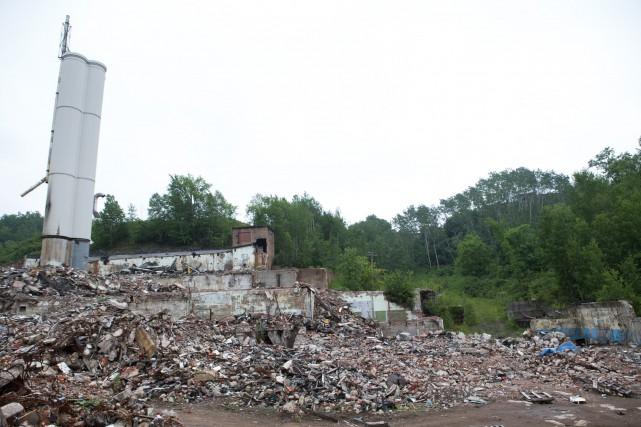 L'ancienne usine Belgo.... (Olivier Croteau)