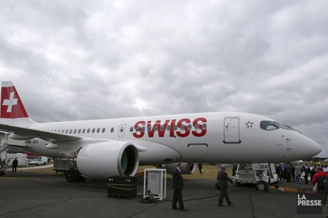 Les seules ventes de nouveaux avions CSeries de Bombardier à Air Canada seront... (AFP, Daniel Leal-Olivas)