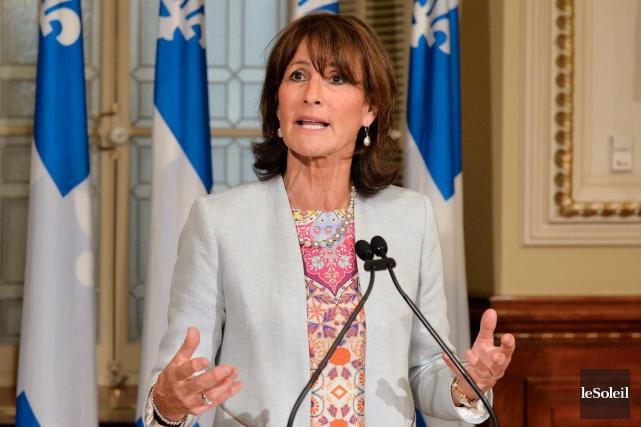 La ministre de l'Immigration, Kathleen Weil... (Le Soleil, Pascal Ratthé)