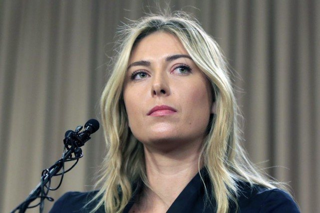 Maria Sharapova, quintuple championne du grand chelem et ancienne... (Archives AP)