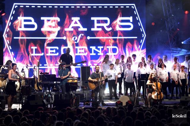 Bears of Legend au Parc de la Francophonie... (Le Soleil, Jean-Marie Villeneuve)