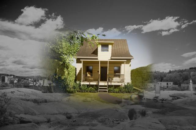 Voici un exemple de la Petite Maison blanche... (Photo courtoisie)