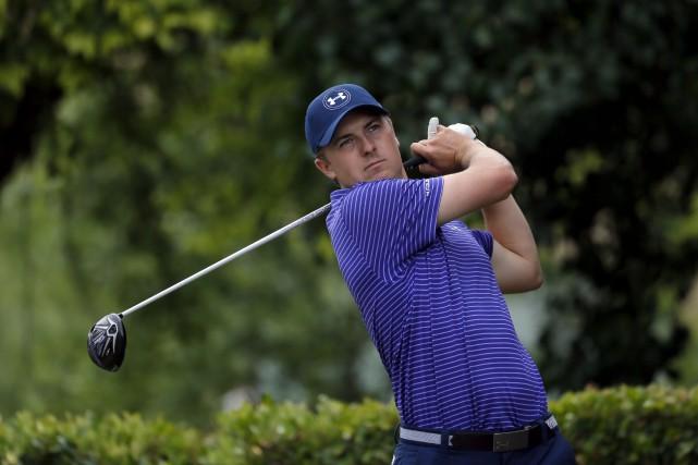 Jordan Spieth est le dernier golfeur à annoncer... (Archives AP, Tony Gutierrez)