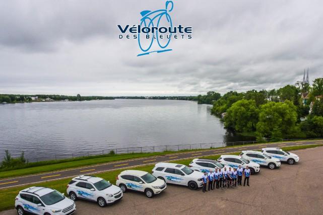 La Véloroute des Bleuets lance sa campagne de... (Photo courtoisie)