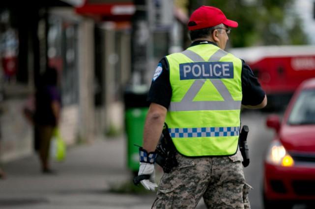 Les policiers ont employé divers moyens de pression,... (PHOTO DAVID BOILY, ARCHIVES LAPRESSE)