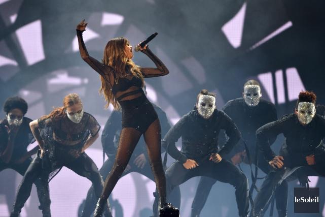 Selena Gomez s'est pointée en terrain conquis. Elle... (Le Soleil, Yan Doublet)
