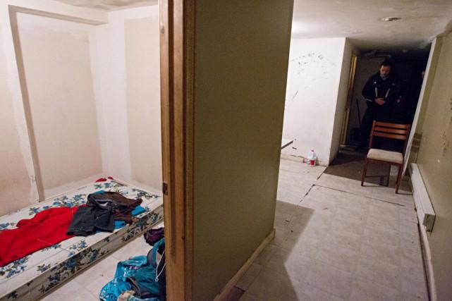 L'air vicié des crackhouses, la grande promiscuité qui... (Photo François Roy, Archives La Presse)