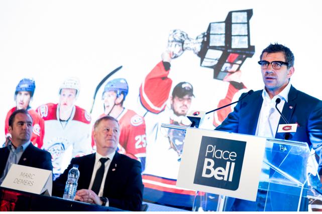 Le propriétaire et président du Canadien Geoff Molson,... (Photo Marco Campanozzi, La Presse)