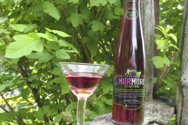 Le nouveau vin fortifié «Murmure d'automne» vient d'être... (Courtoisie)