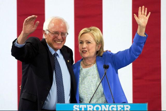 Le soutien de M. Sanders est un soulagement... (AP, Jim Cole)