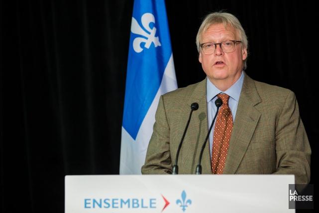 Le ministre de la Santé, Gaétan Barrette... (La Presse, Édouard Plante-Fréchette)