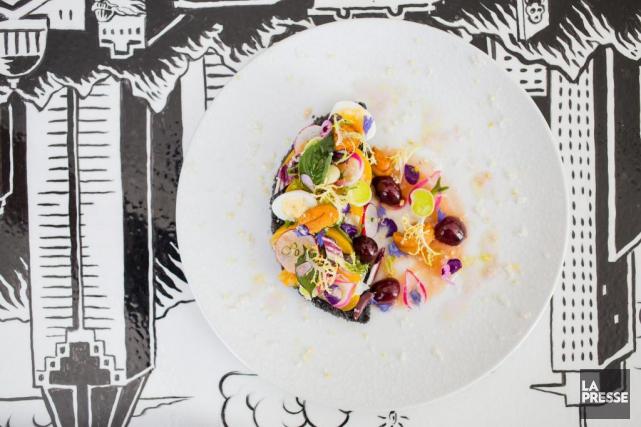 Pour cette tartine, on utilise des légumes de... (Photo Édouard Plante-Fréchette, La Presse)