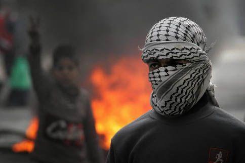 Un Palestinien... (Archives AP)