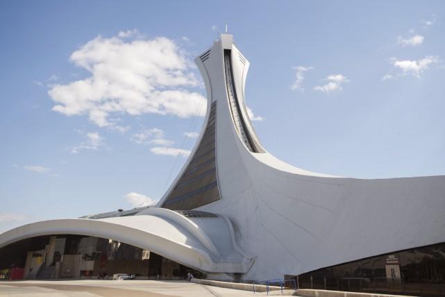 Le stade olympique de Montréal en juin 2016... (La Presse Canadienne, Graham Hughes)