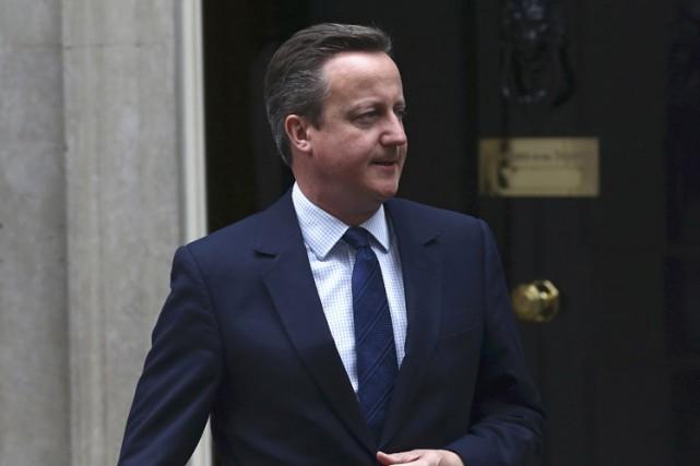 David Cameron... (PHOTO REUTERS)