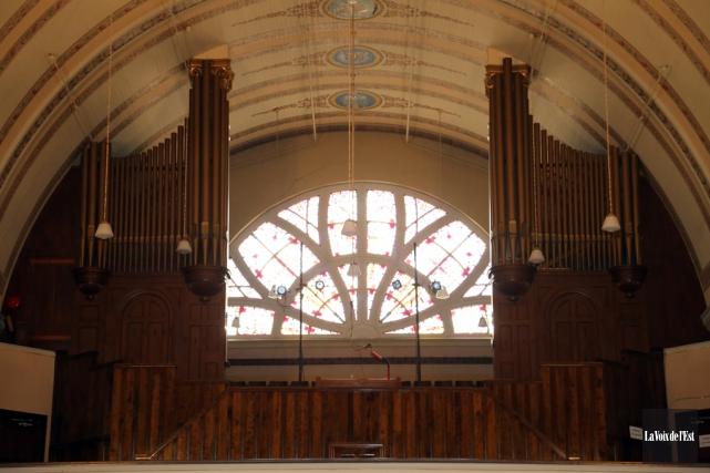 L'orgue Casavant de l'église Notre-Dame.... (Alain Dion, La Voix de l'Est)