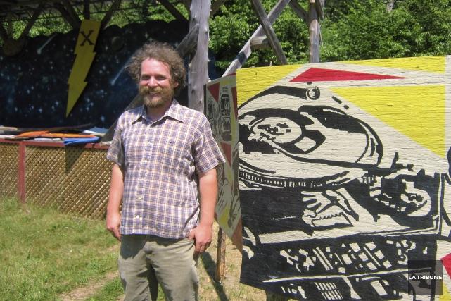 Le fondateur et directeur du ShazamFest, Ziv Prytyk,... (La Tribune, Ève Bonin)